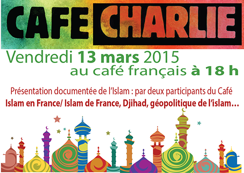 Prochain Café Charlie le 13 Mars 2015